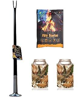 Amazon Com Firedragon Blow Poke Fireplace Tool Home Kitchen