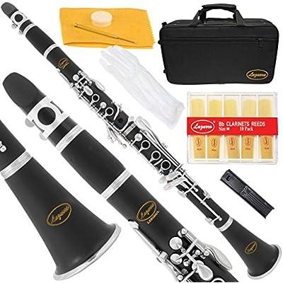 lazarro-150-bk-l-b-flat-bb-clarinet