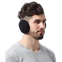 Tough Headwear Fleece Ear Muffs/Ear Warmers - Behind The Head Style Winter Earmuffs for Men & Women