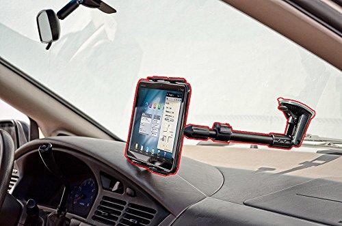 ChargerCity 360º Swivel Adjust Rigid Telescopic Tablet Su...