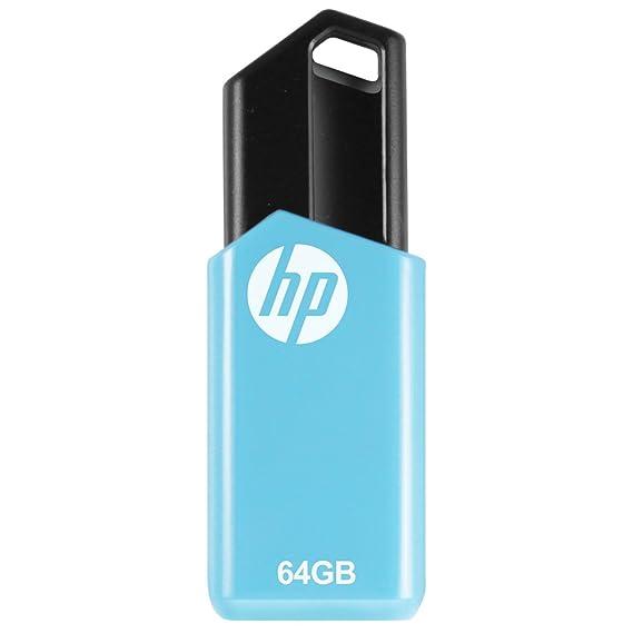f67afae03 HP v150w 64 GB USB 2.0 Flash Drive (Blue) Pen Drives. Price Drop