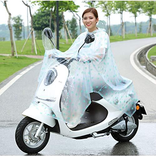 Geyao color Personnalité Femme Transparent B Équitation B Bicycle De Adulte Voiture Simple Coréenne Imperméable Batterie Mignon Size Xxxxl Poncho Mâle Mode rvxwarqZR5