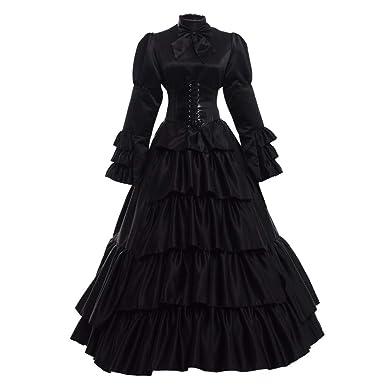b036a848affd Amazon.com: GRACEART Women Victorian Rococo Dress Renaissance Costumes:  Clothing