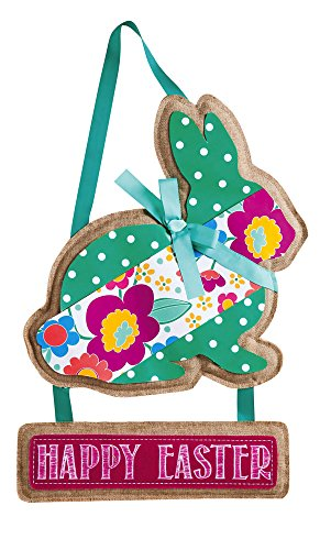 Happy Easter Bunny Door Hanger (Door Spring Hangers)