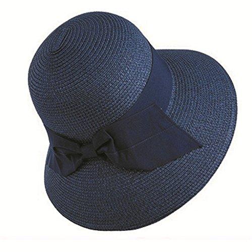 Cappello Dimensioni L Blu colore Spiaggia Pieghevole Con Cappellino Sole Blu Da 8Fwqzr8