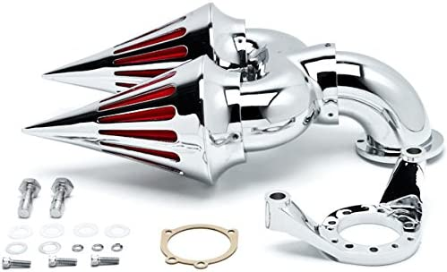 Krator Chrome Dual Spike Intake Air Cleaner