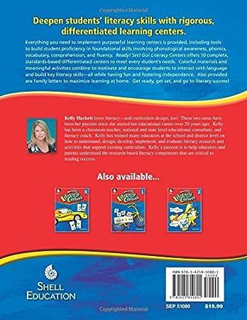Literacy Centers Level K: Kelly Hackett: 9781425810788: Amazon.com ...