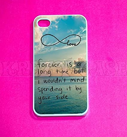 Cute Forever Love Infinity IPhone 4 Case