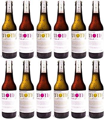Cervezas Mond Cerveza, 6 Botellas Rubias y 6 Botellas Tostadas - 1 ...