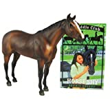 Breyer® Horses Saddle Club Comanche Figure with Horse Shy Book