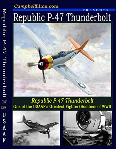 (USAF Air Force P-47 Thunderbolt WW2 old Films How to fly Un-crate DVD)
