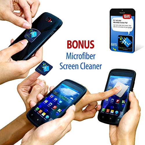 Microfiber Cloth Bundle: Clean Screen Wizard Microfiber Screen Cleaner And