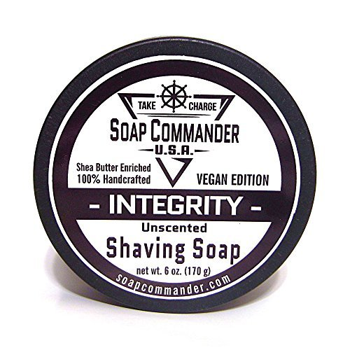Soap Commander Vegan Shave Soap (Integrity - Unscented) by Soap...