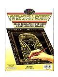 : Scratch-brite Gold Scratchboard 8.5x11