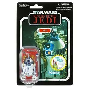 Hasbro Star Wars Figuras vintage R2D2 con sable láser - Figura de La Guerra de las Galaxias