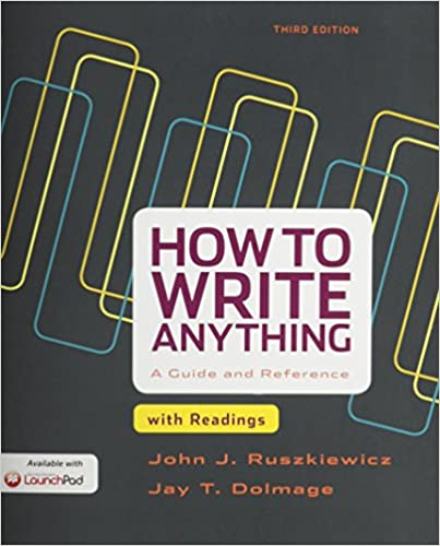 how to write anything 3rd edition pdf