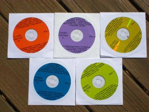 Music Maestro COUNTRY CLUB PACK Vol 2 CDG Karaoke 5 Disk Set