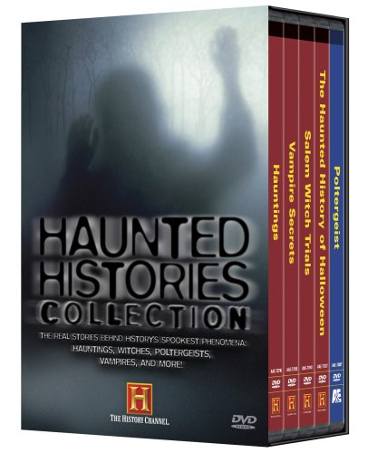 Haunted History: Haunted Histories Collection (Hauntings / Vampire Secrets / Salem Witch Trials / The Haunted History of Halloween / Poltergeist) (History (The Haunted History Of Halloween Dvd)