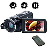 Video Camera Camcorder Full HD 1080P 24.0MP Digital Camcorder Night Vision 18X Digital Zoom With Remote Control