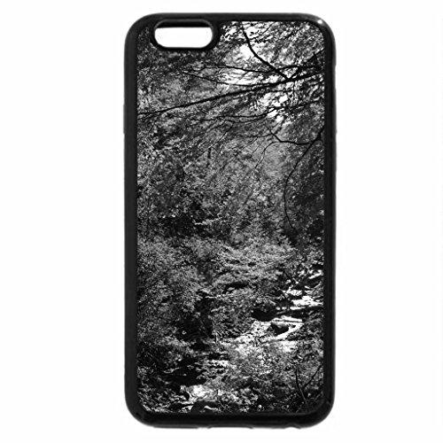 iPhone 6S Plus Case, iPhone 6 Plus Case (Black & White) - Autumn 3