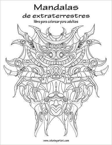 Amazon.com: Mandalas de extraterrestres libro para colorear para ...