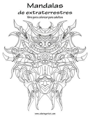 Descargar Mandalas de extraterrestres libro para colorear para