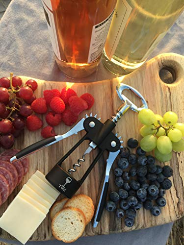 Wing Corkscrew Wine & Bottle Opener All-in-one by The Wine Guys by The Wine Guys (Image #2)