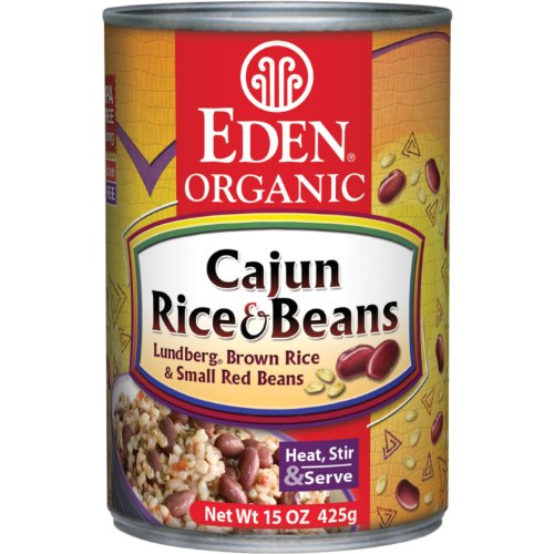 how to cook canned beans with rice
