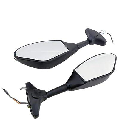 Amazon.com: ZYHW LED Turn Signal Mirror For Yamaha YZF R1 R6 ...