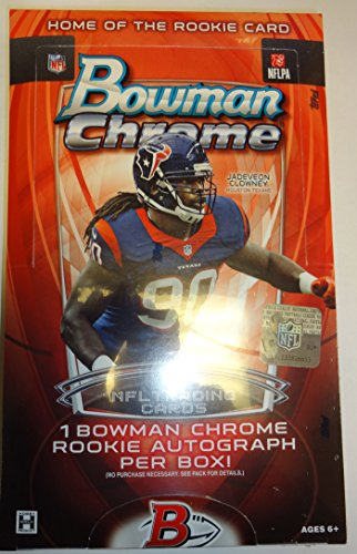 2014 Bowman Chrome Football Hobby