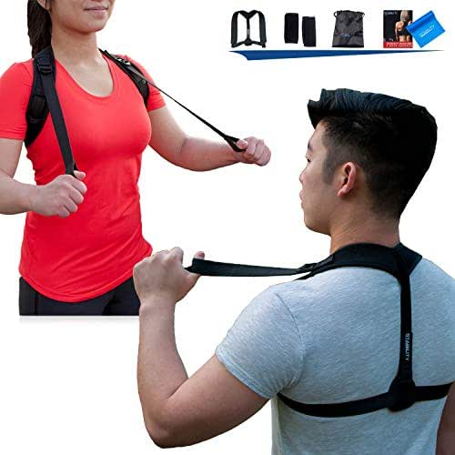 Back Posture Corrector for Women and Men - Body Wellness Posture Corrector - Posture Corrector for Women Under Clothes - Back Straightener Posture Corrector - Posture Brace | STABILITY