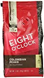 Eight O'Clock - Colombian Peaks - Ground Coffee, 11-Ounce Bags (Pack of 2)