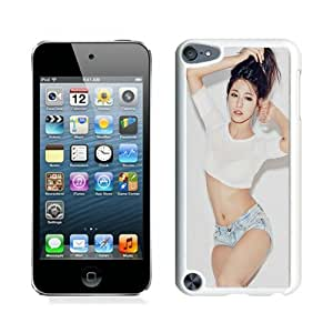 Papers Co He Seolhyun Kpop Aoa Sexy Girl Music Iphone Wallpaper White Durable Hard Shell iPod Touch 5 Phone Case
