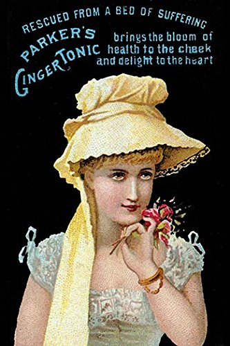 Buyenlarge 0-587-31494-x-C3248 ''Parker's Ginger Tonic-Bloom of Health'' Gallery Wrapped Canvas Print, 32'' x 48''