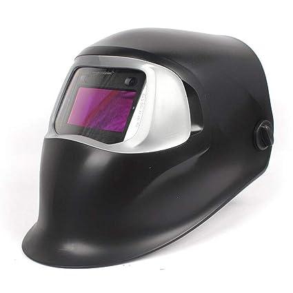 Casco de soldadura, máscara de soldadura de atenuación automática Máscara de molienda de lente de
