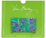 Gorgeous Vera Bradley Colorful Hair Pins in Emerald Paisley