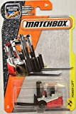 Matchbox 2017 MBX Construction Power Lift Fork Lift 46/125, Gray and Red