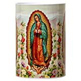 Dollaritem New 332594 Coin Bank Tin Religious Guadalupe 6'' X 8.5'' #23240 (24-Pack) Coin Bank Wholesale Bulk Novelties Coin Bank Religious