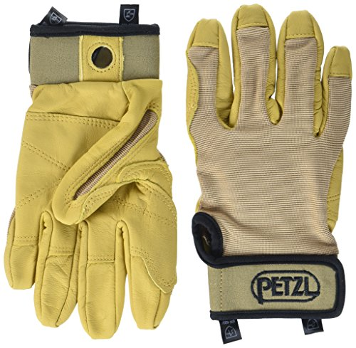 Petzl K52 CORDEX Lightweight Glove,Tan, Medium (Cordex Petzl Gloves)