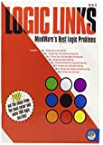 MindWare - Logic Links: Level C - 100 Puzzles - Great For Teaching Logical Deduction - Challenging and Engaging - Grades 5-6