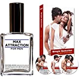 Max Attraction for Men Seduction Kit - Pheromones to Attract Women and DVD Special Offer