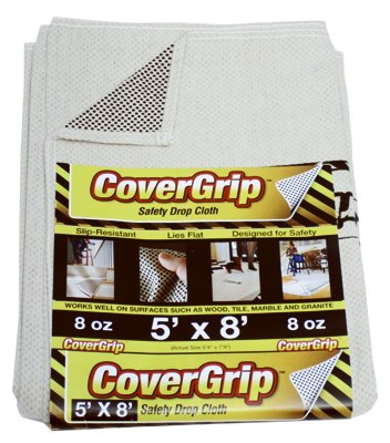 Spark Innovation 005808 5x8 Safety Drop Cloth - Quantity 8