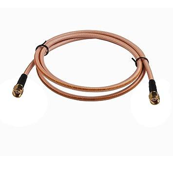 PC-Case 1.3 FT RF Cable eléctrico Conector Conector Macho RP-SMA a RP