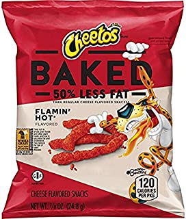product image for Baked Cheetos Crunchy Flamin' Hot, Pack of 40