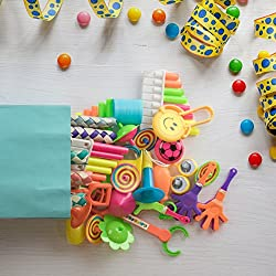 Party Favors for Kids Goodie Bags – 120pc Party Supplies Small Bulk Toys for Birthday Pinata Fillers, Classroom Treasure Box Prizes and Carnival Games