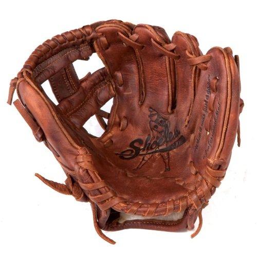 - Shoeless Joe Gloves Joe Junior Brown Mini Fielders Glove, Right Handed, 9-Inch