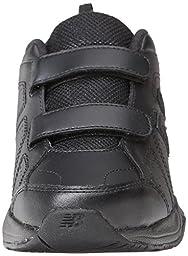 New Balance KV624 Hook and Loop Training Shoe (Little Kid/Big Kid),Black,13 M US Little Kid