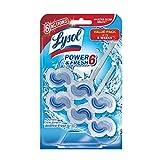 Lysol Power & Fresh 6 Automatic Toilet Bowl Cleaner, Atlantic Fresh, 2ct