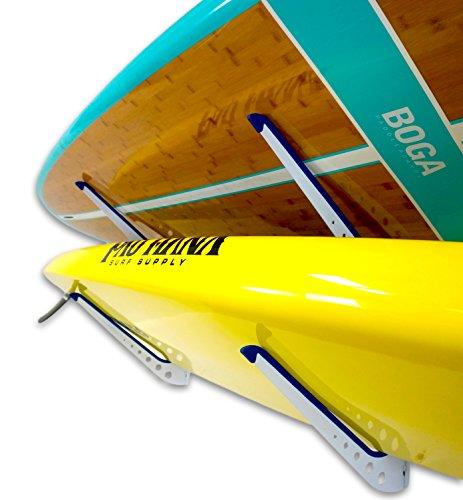 2 SUP Wall Storage Rack - Adjustable Metal Paddleboard Home & Garage Storage Hanger Mount by StoreYourBoard