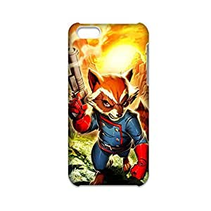 LJF phone case Printing The Raccoon War For Apple 5C Iphone Funny Back Phone Cover For Boy Choose Design 1-5